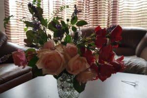 Dagi aed roosid vaasis